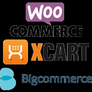 Woo Commerce, X Cart, Big Commerce
